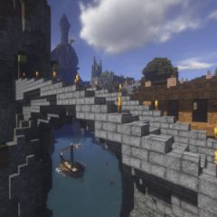 Minecraft Bridges 6